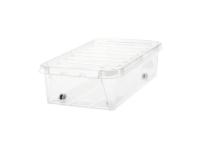 Smartstore bedroller, 35 liter, med hvide clips